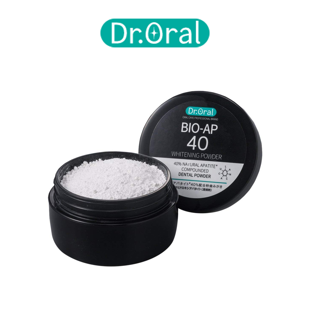 Dr.Oral 구강 화이트닝 파우더 치아착색 분말치약 26g