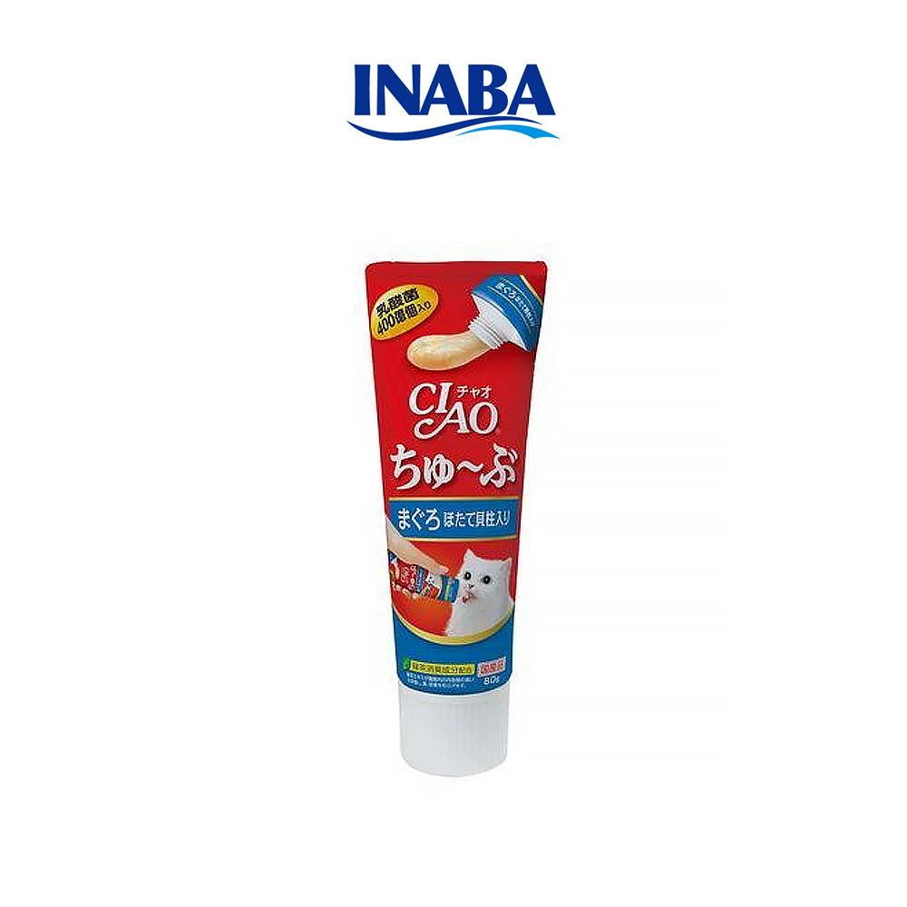 이나바 챠오츄르 튜브 고양이간식 참치 가라비