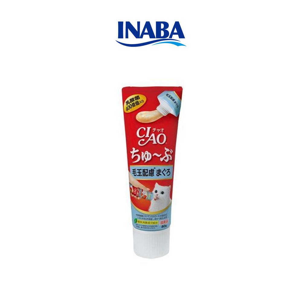 이나바 챠오츄르 튜브 고양이간식 헤어볼
