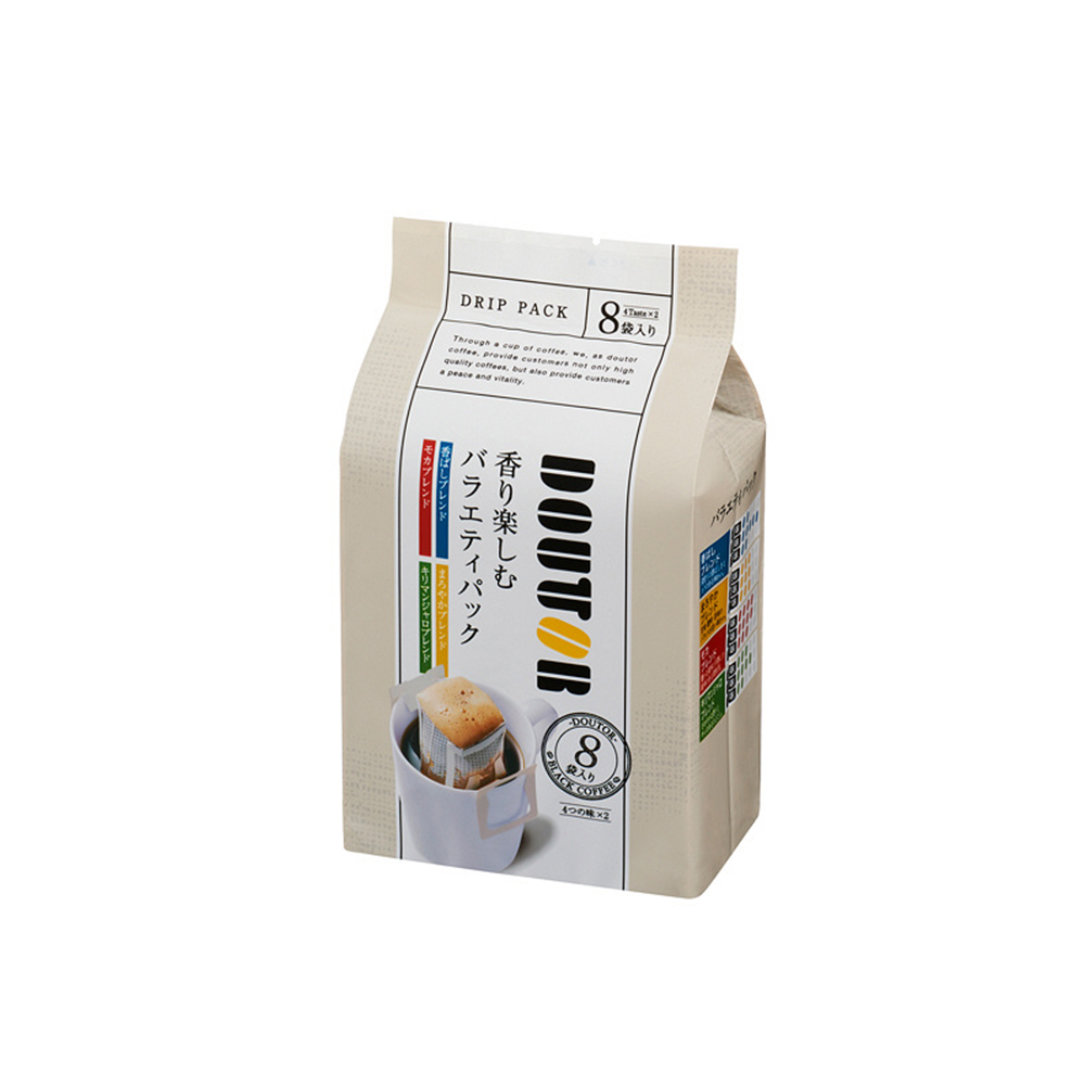 도토루커피 향기가 기대되는 버라이어티팩 8봉입