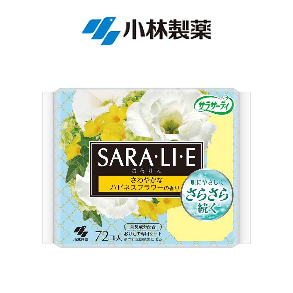 사라리에 팬티라이너 프레쉬 해피플라워72매