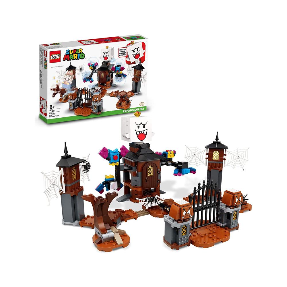 레고 슈퍼마리오 킹부끄와 유령틀린 정원 확장팩 71377