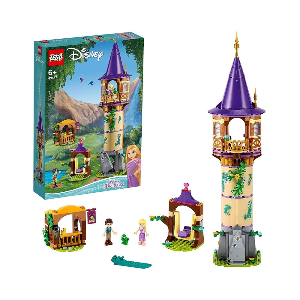 레고 디즈니 공주 라푼젤 타워 43187